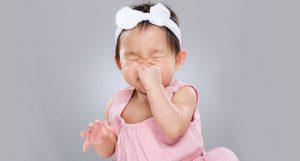 nez encombré bébé